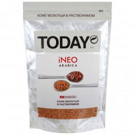 Today iNeo Arabica Кофе молотый в растворимом