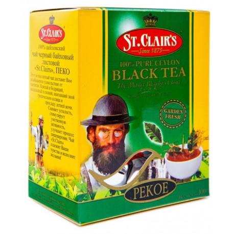 St. Clair's черный чай крупный лист