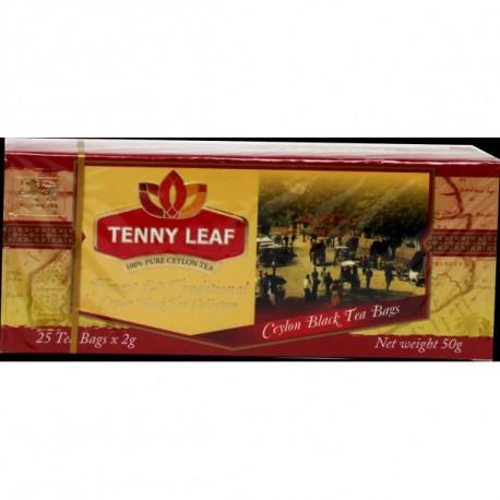 Tenny Leaf черный чай 25 пак.